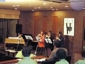 3月17日開催、トランペットとピアノのコンサートにて♪