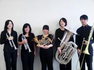 5月12日開催!金管五重奏コンサートのお知らせ
