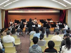 猪名川町立六瀬中学校吹奏楽部演奏会