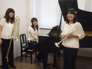 12月1日(土)開催!トランペット、トロンボーン、ピアノによるコンサート♪