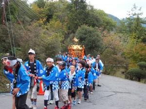 猪名川の秋祭り