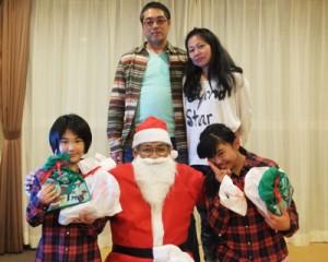 家族でハッピークリスマス♪