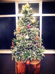 メープル猪名川のクリスマスツリー