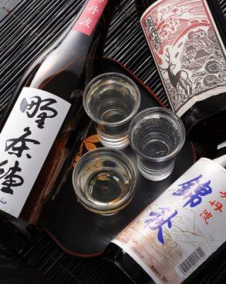 ◆秋の飲み比べ◆『奥丹波 錦秋 純米吟醸』『野条穂 純米吟醸』『奥丹波 冷おろし純米吟醸』