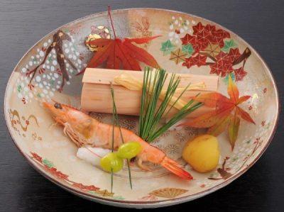 【日本酒にぴったり!】<季節の逸品 山海の幸 錦秋焼き>付【和楽特別会席・秋】