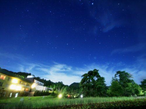 天体観測に最適な猪名川町の空