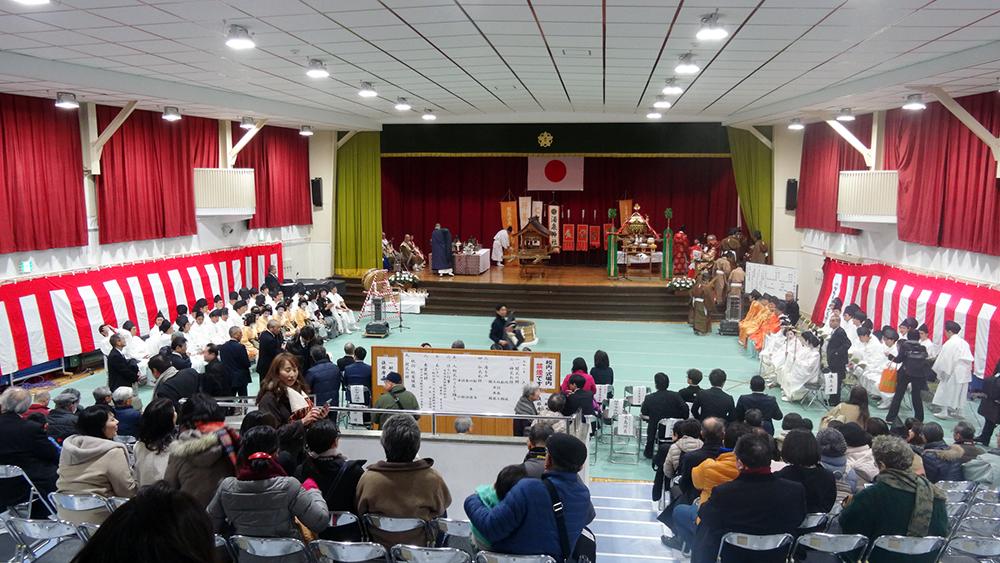 有馬温泉のお正月~入初式・神式仏式の儀