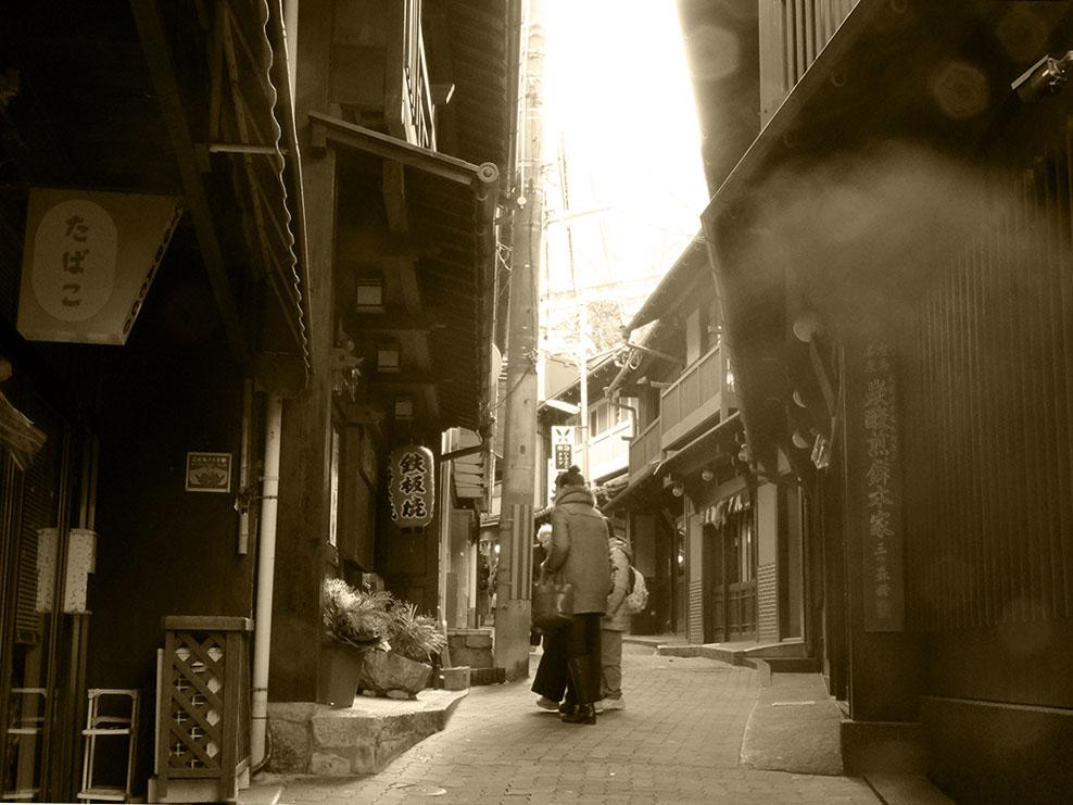 "Scenery of Arima ONSEN ""YUMOTO-Slope 0227"""