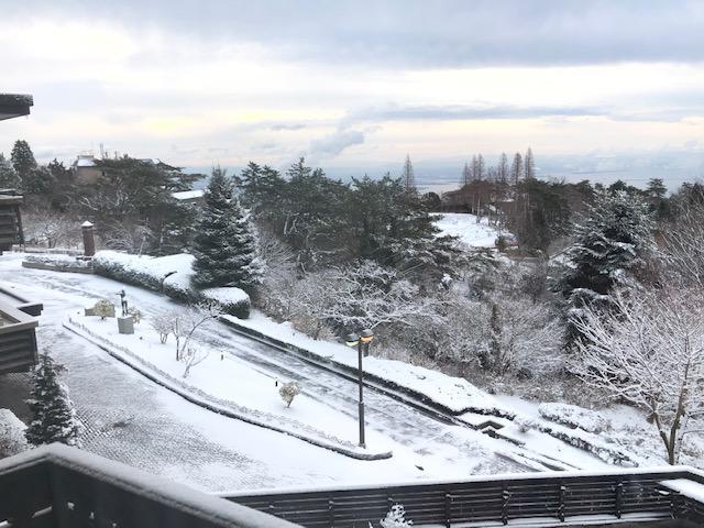 3月15日(日) 雪が降りました!