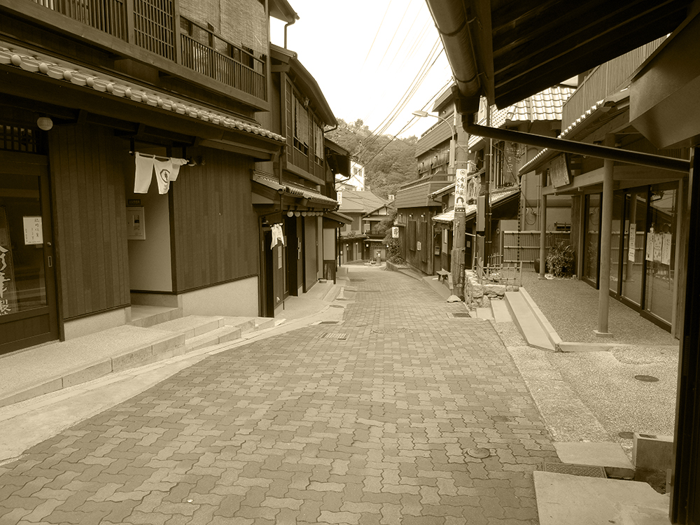 "Scenery of Arima ONSEN ""YUMOTO-slope in the GW""⑥"