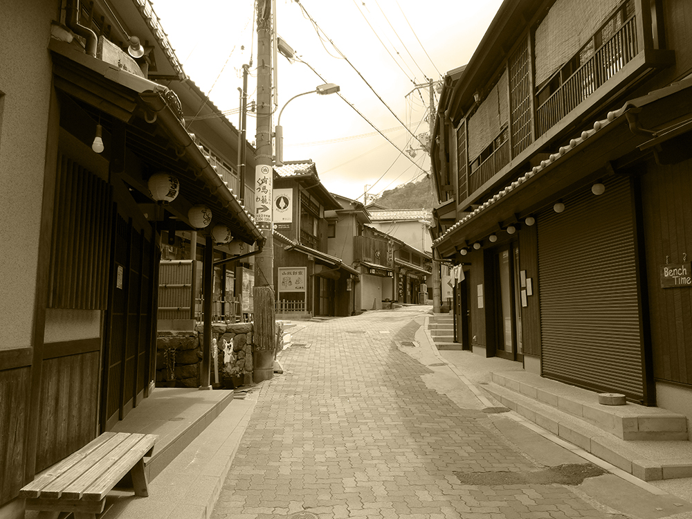 "Scenery of Arima ONSEN ""YUMOTO-slope in the GW""⑤"