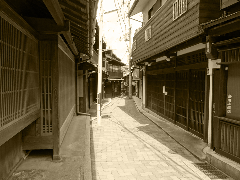 "Scenery of Arima ONSEN ""YUMOTO-slope in the GW""③"