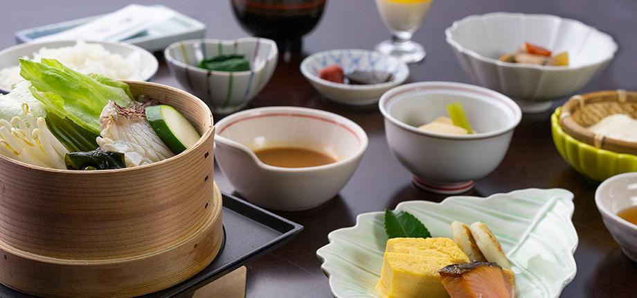 翠楓亭へようこそ~ 和朝食