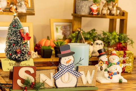 クリスマス飾り登場