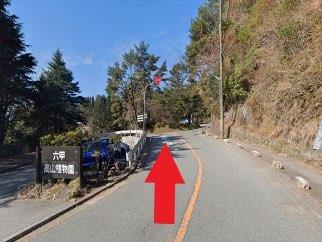 六甲山高山植物園の前